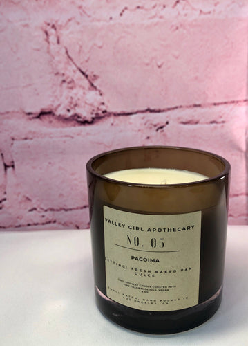 No. 5 Pacoima, CA Scented Candle - Hand-Poured Fresh Baked Pan Dulce