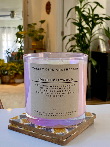No. 07 - North Hollywood - Honey & Oats Soy Candle