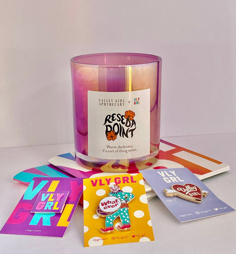 Reseda Point Bundle - VLY GRL Collaboration - Candle Gift Set - San Fernando Valley - Valley Girl