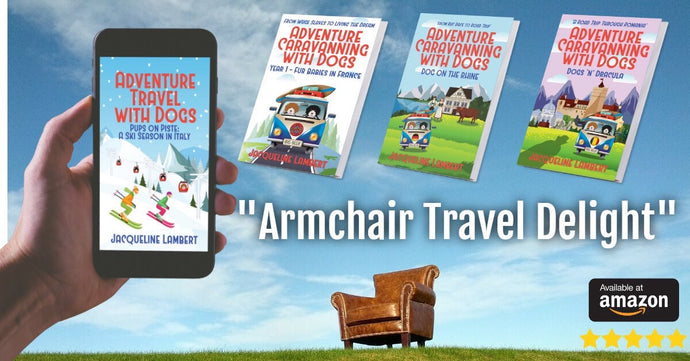 A guest post by Jacqueline (Jackie) Lambert, author of the - Adventure Caravanning with Dogs