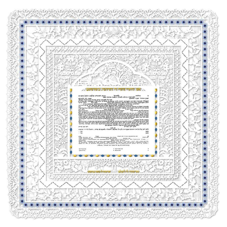 Here are 3 reasons why the Ketubah in English is featured at many Jewish weddings worldwide today