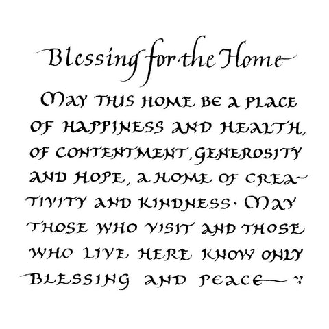Home Blessing English