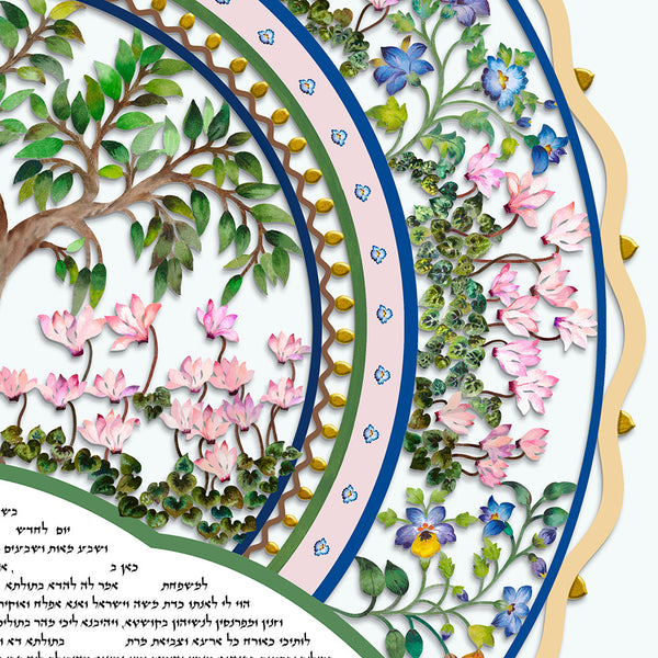 Glorious Beauty Print Ketubah