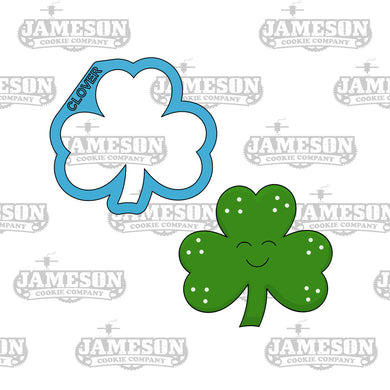 Three Leaf Clover Cookie Cutter - 3 Leaf - St. Patrick's Day