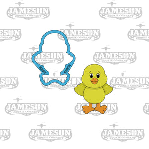 Easter Baby Chick Cookie Cutter - Baby Chicken - Bird Quack