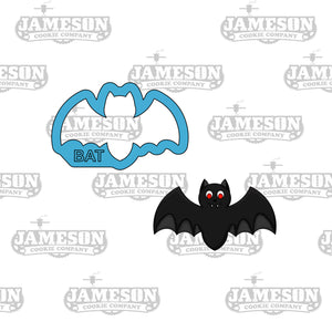 Halloween Bat Cookie Cutter - Vampire Cookie Cutter