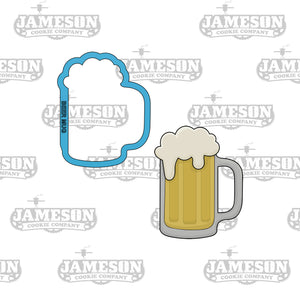 Beer Mug Cookie Cutter - Ale