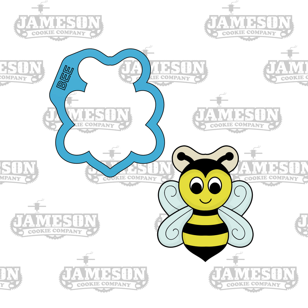 Bumble Bee Cookie Cutter - Insect - Spring Theme - Honey Bee