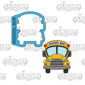 School Bus Cookie Cutter - Back To School Theme