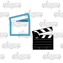 Load image into Gallery viewer, Movie Theme Cookie Cutter Set - Cinema - Theater - Popcorn, 3D Glasses, Clapboard, Projector, Ticket