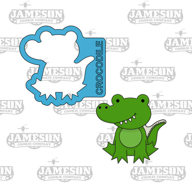 Crocodile Cookie Cutter - Safari Animals