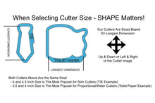 Load image into Gallery viewer, Long or Tall Hexagon Plaque Cookie Cutter