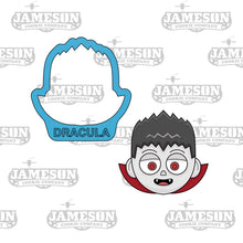 Load image into Gallery viewer, Dracula Cookie Cutter - Vampire - Halloween Theme