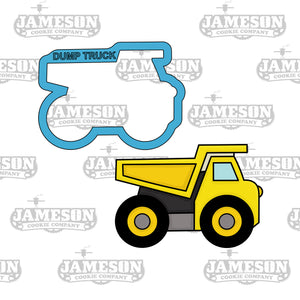Dump Truck Cookie Cutter - Construction Theme Birthday Party
