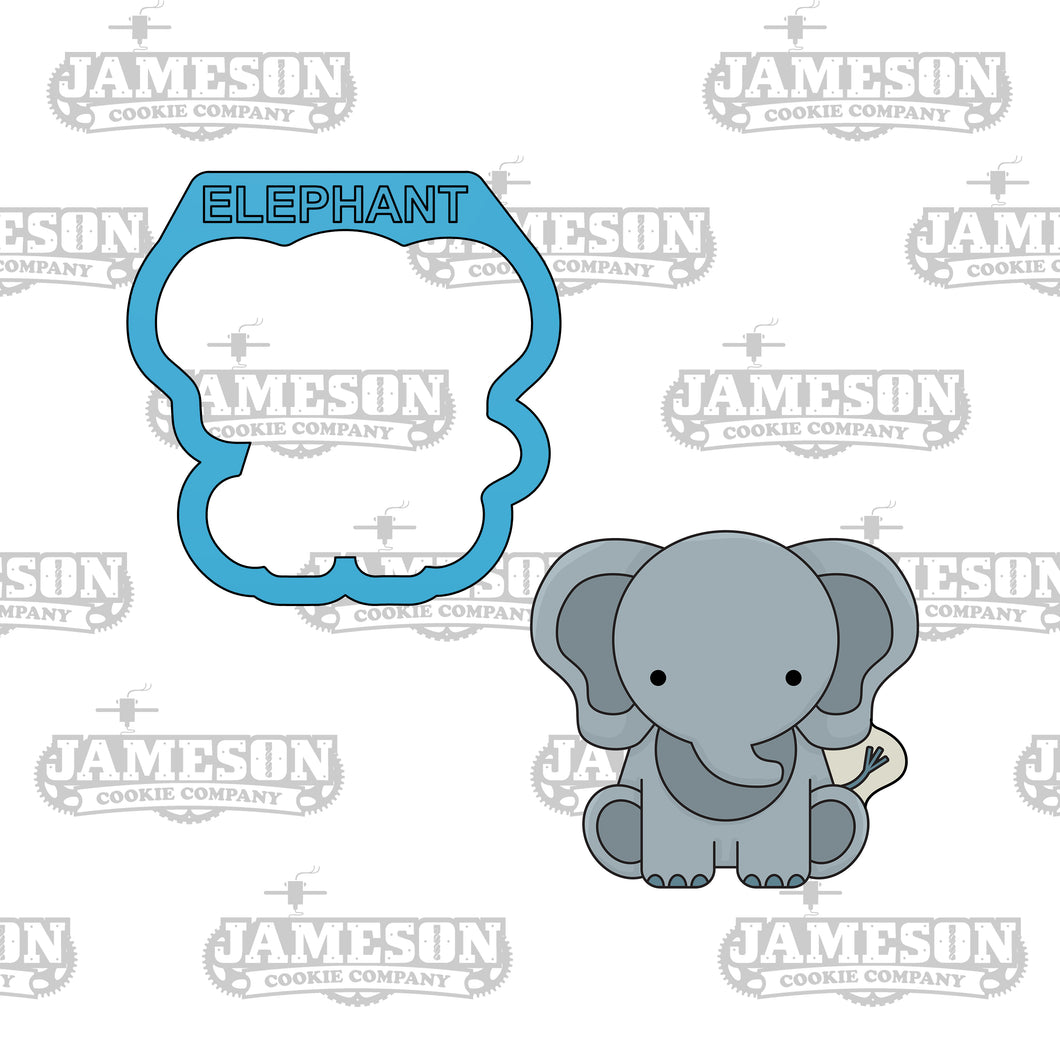 Elephant Cookie Cutter - Safari Animals