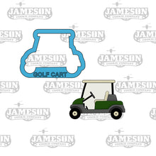 Load image into Gallery viewer, Golf Cart Cookie Cutter
