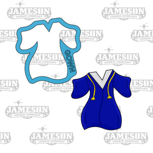 Graduation Gown Cookie Cutter - Senior Graduation - 2020
