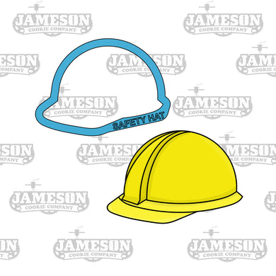 Safety Hard Hat Cookie Cutter - Construction Theme Birthday Party