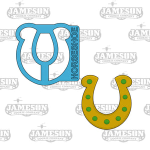 Horseshoe Cookie Cutter - St. Patrick's Day Theme