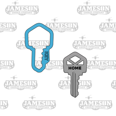House Key Cookie Cutter - Realtor, Real Estate Theme