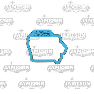 Iowa State Shape Cookie Cutter