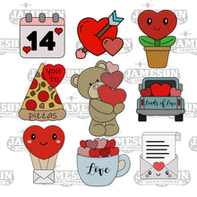 Load image into Gallery viewer, January 2021 Monthly Themed Cutter Box - Valentine's Day
