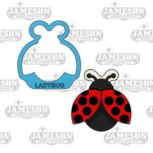 Lady Bug Cookie Cutter - Insect - Spring or Summer Theme
