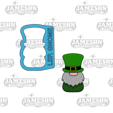 Leprechaun Gnome Cookie Cutter - St. Patrick's Day Theme