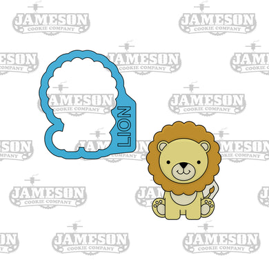 Lion Cookie Cutter - Safari Animals
