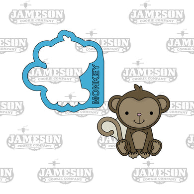 Monkey Cookie Cutter - Safari Animals