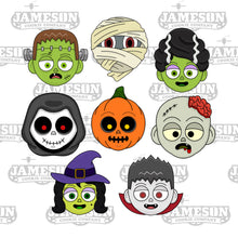 Load image into Gallery viewer, Monster Cookie Cutter Set, Bundle - Halloween