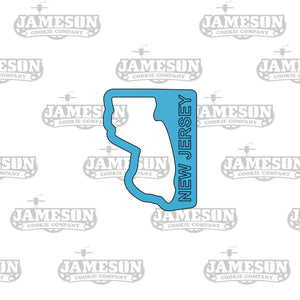 New Jersey State Shape Cookie Cutter