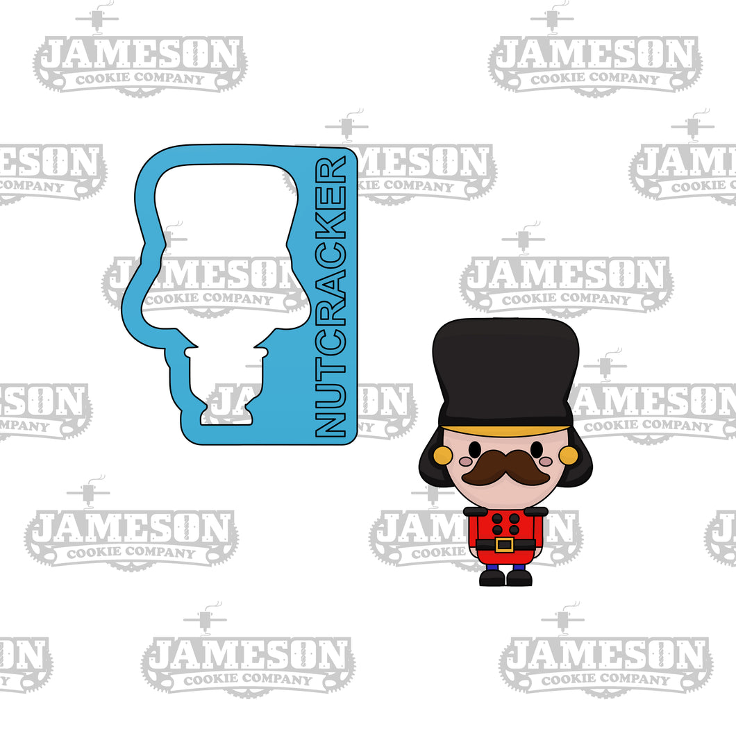 Nutcracker Cookie Cutter - Christmas Soldier