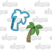 Load image into Gallery viewer, Palm Tree Cookie Cutter - Beach Theme -  Summer Theme