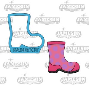 Rain Boot Cookie Cutter - Spring Showers - Rainboot