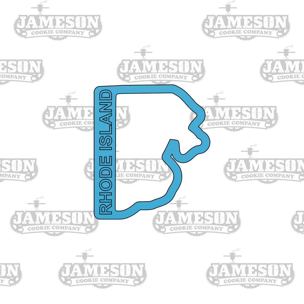 Rhode Island State Shape Cookie Cutter
