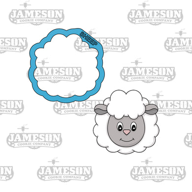 Sheep Head Cookie Cutter - Farm Animals - Birthday Theme