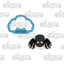 Load image into Gallery viewer, Spooky Spider Cookie Cutter - Halloween