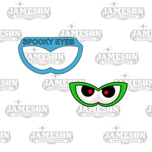 Load image into Gallery viewer, Spooky Eyes 2 Cookie Cutter - Halloween