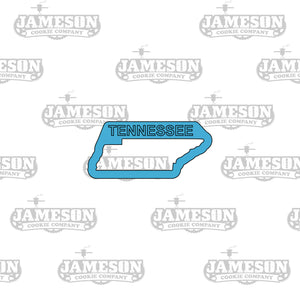 Tennessee State Shape Cookie Cutter