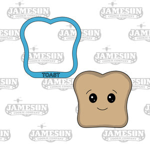 Toast Cookie Cutter - Slice of Bread - Breakfast Food