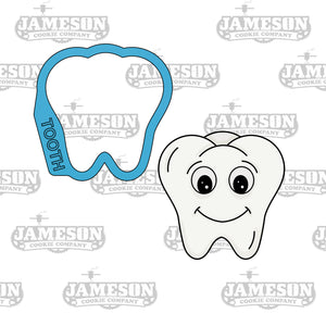 Tooth Cookie Cutter - Molar, Wisdom - Dental, Dentist Theme