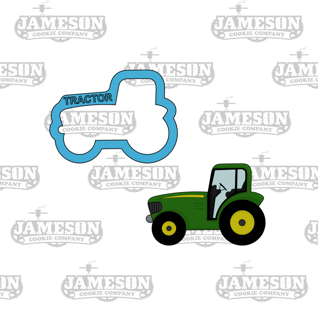 Tractor Cookie Cutter - Farm Animals - Birthday Theme