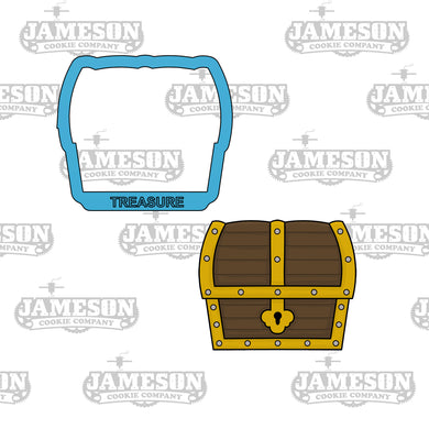 Treasure Chest Cookie Cutter - Pirate - Birthday Theme