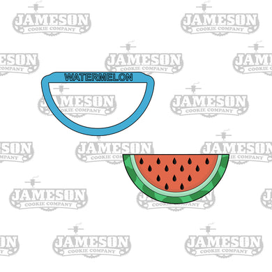 Watermelon Slice Cookie Cutter - Summer Theme - Food Theme