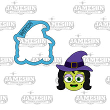 Load image into Gallery viewer, Witch Cookie Cutter - Halloween Theme
