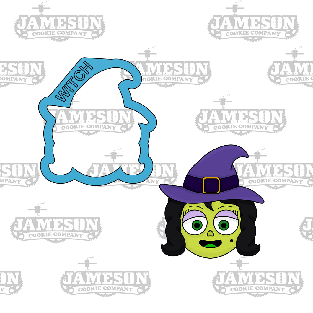 Witch Cookie Cutter - Halloween Theme