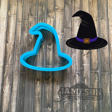 Load image into Gallery viewer, Halloween Witch Hat Cookie Cutter - Wizard Hat Cookie Cutter