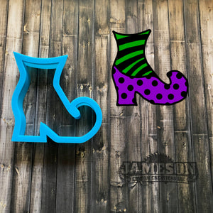 Witch Shoe Cookie Cutter - Witch Boot Cookie Cutter
