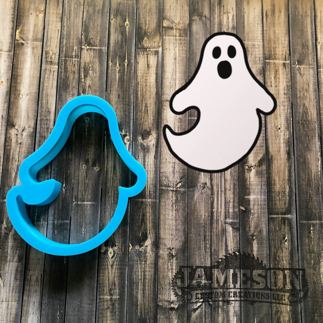 Ghost Cookie Cutter - Spooky Ghost Cookie Cutter